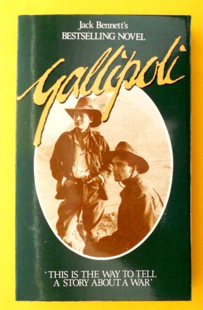 Jack Bennett GALLIPOLI (1st Ed Paperback,1981) World War 1/ANZAC *Like New Cond*