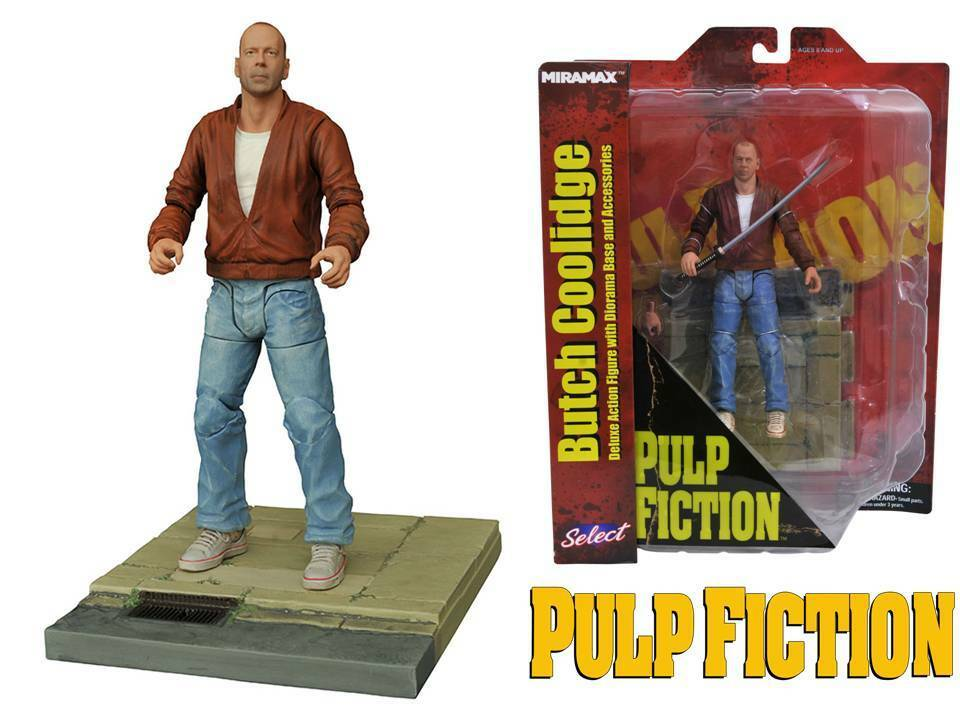 Action figure Pulp Fiction Butch Coolidge 18 cm Diamond Select toys