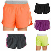 Danskin Now Women's Athletic Woven Dolphin Running Shorts Hidden Liner Athletic