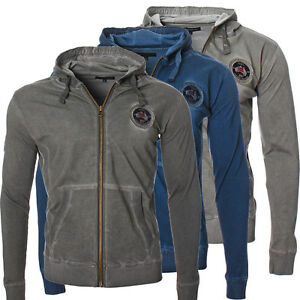 Geographical-Norway-uomo-felpa-giacca-zip-Felpa-per-allenamento-NUOVO