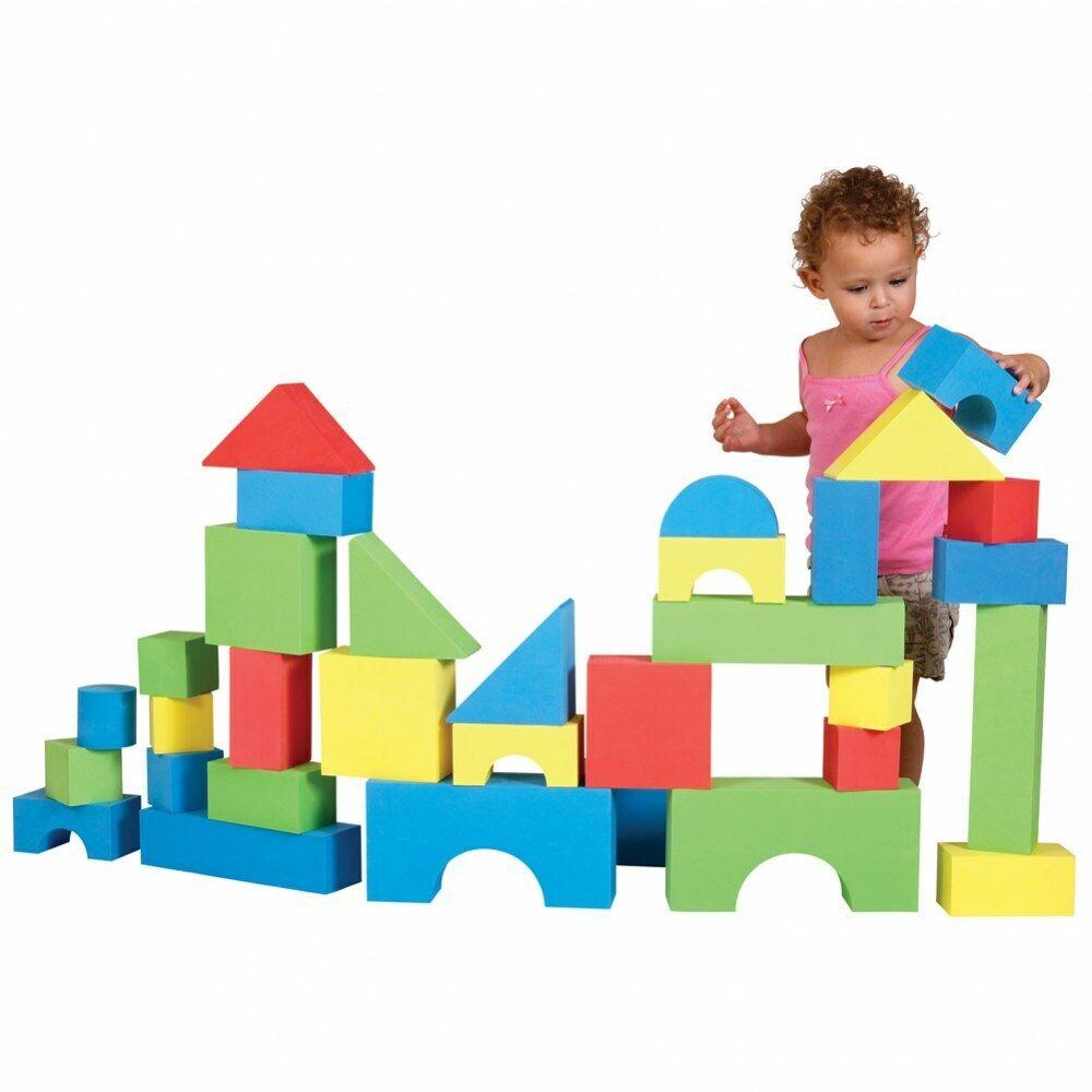 Edushape Big EduFarbe Blocks  - Set of 32