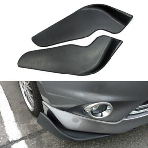 Front-Bumper-Spoiler-Lower-Lip-Splitter-Flap-Diffuser-Skirt-ADD-ON-Universal-Car
