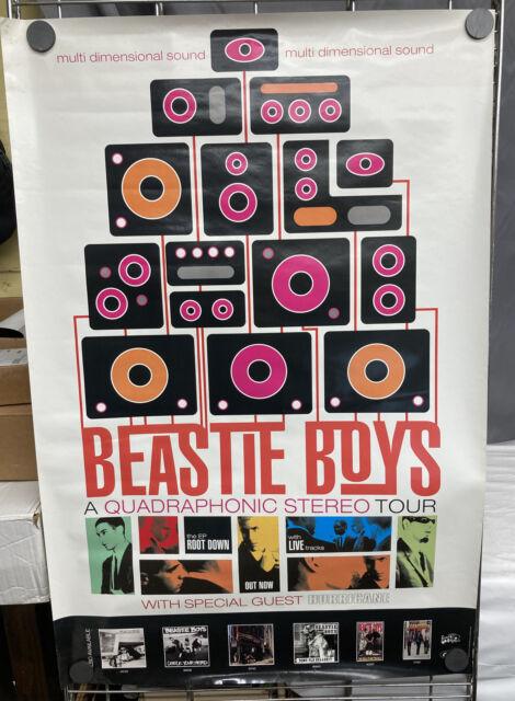 BEASTIE BOYS  ILL Communication Quadraphonic Stereo Tour Poster 1994 Grand Royal