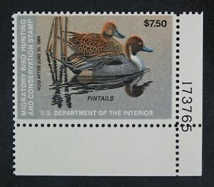 CKStamps-US-Federal-Duck-Stamps-Collection-Scott-RW50-7-50-Mint-NH-OG
