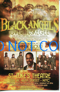 Layon Gray Lamman Rucker Black Angels Over Tuskegee Airmen Broadway Musical PC