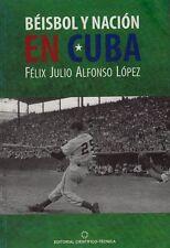 BEISBOL Y NACION EN CUBA Baseball Pelota  Cuban