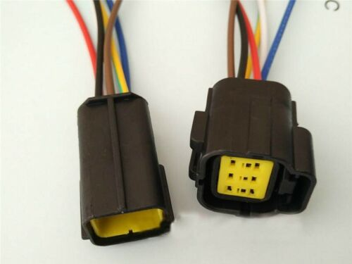 1Way-12Way 1.8 mm Impermeable Conector Eléctrico Kit De Alambre teminal Femenino Masculino