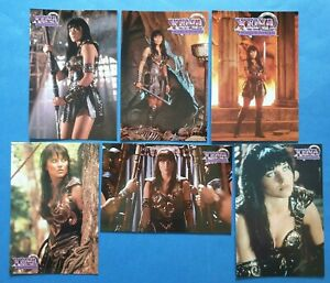 Set-of-6-XENA-Warrior-Princess-Lucy-Lawless-Postcards-by-A-Bigger-Splash