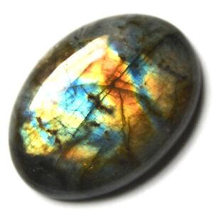 Cts. 59.65 Natural Multi Fire Labradorite Cabochon Oval Cab Loose Gemstones