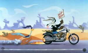 Warner Brothers-Wile Coyote & Road Runner-The Deuce You Say Limited Edition Cel