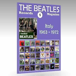 The-Beatles-Records-Magazine-No-5-Italy-1963-1972-Full-Color-Guide