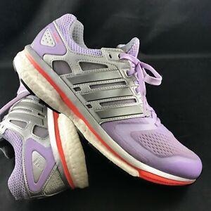 Details about Adidas SUPERNOVA GLIDE BOOST 8 ATR Womens 8.5 40 2 3 Black Violet Purple