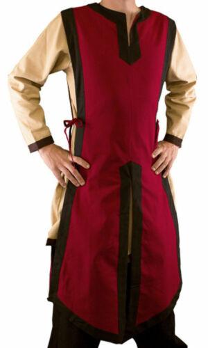 Details about  /Larp Jerkin Sleeveless Basic Medieval Tabard Renaissance Costume Tunic Shirt