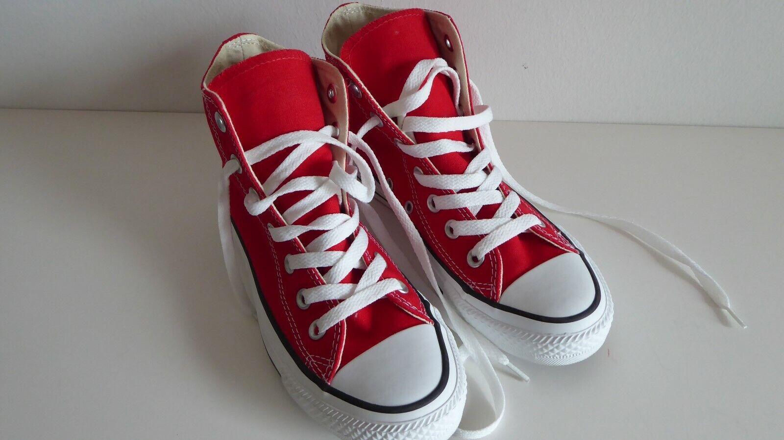 Neu Converse Chucks All Star Turnschuhe Schuhe Turnschuhe Damen Rot 36