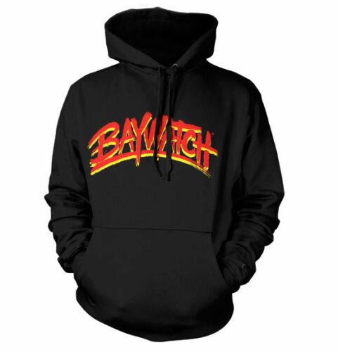 Officially Licensed Baywatch Logo Hoodie S-XXL Sizes