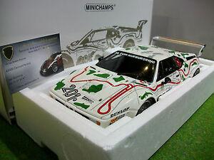 Bmw M1 Procar #201 1980 Nurburgring 1/18 Minichamps 180802901 Voiture Miniature