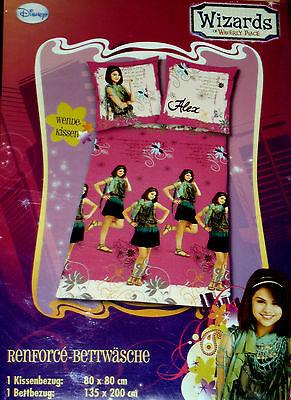Knaller Disney 2 Tlg. Kinder BettwÄsche Wizards Of Waverly Place 135x200cm Neu äRger LöSchen Und Durst LöSchen