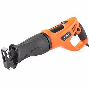 VonHaus 710W 230V Reciprocating Saw 2 Blades Wood Metal Cutting Recip