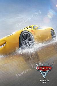 Posters Usa Disney Pixar Cars 3 Movie Poster Glossy Finish 2 1