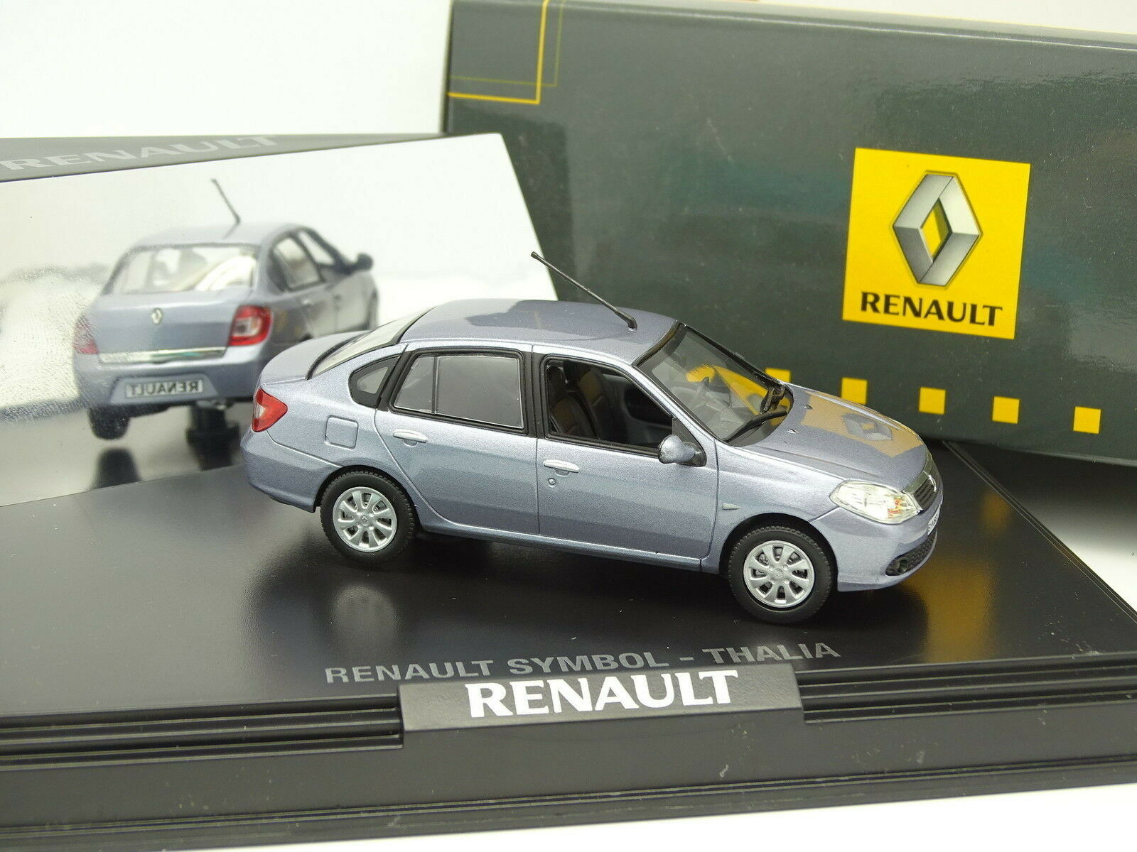 Norev 1 43 - Renault Symbol Thalia Bleue