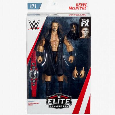 WWE Mattel Drew McIntyre Elite Series #71 Figure IN STOCK!