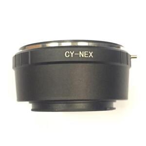 CY-NEX-Lens-Mount-Adapter-Ring-fuer-Contax-CY-an-Sony-NEX-UK-Verkaeufer