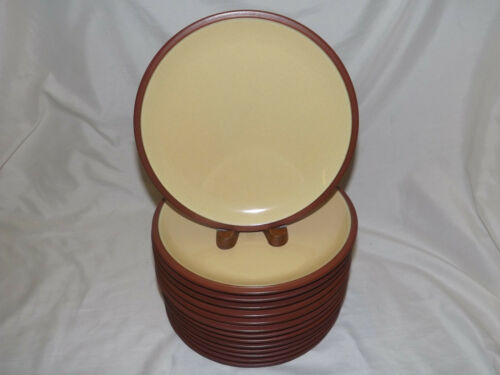 buy up to 7 pairs of 2 Salad Plates Denby Langley Juice Lemon Luncheon