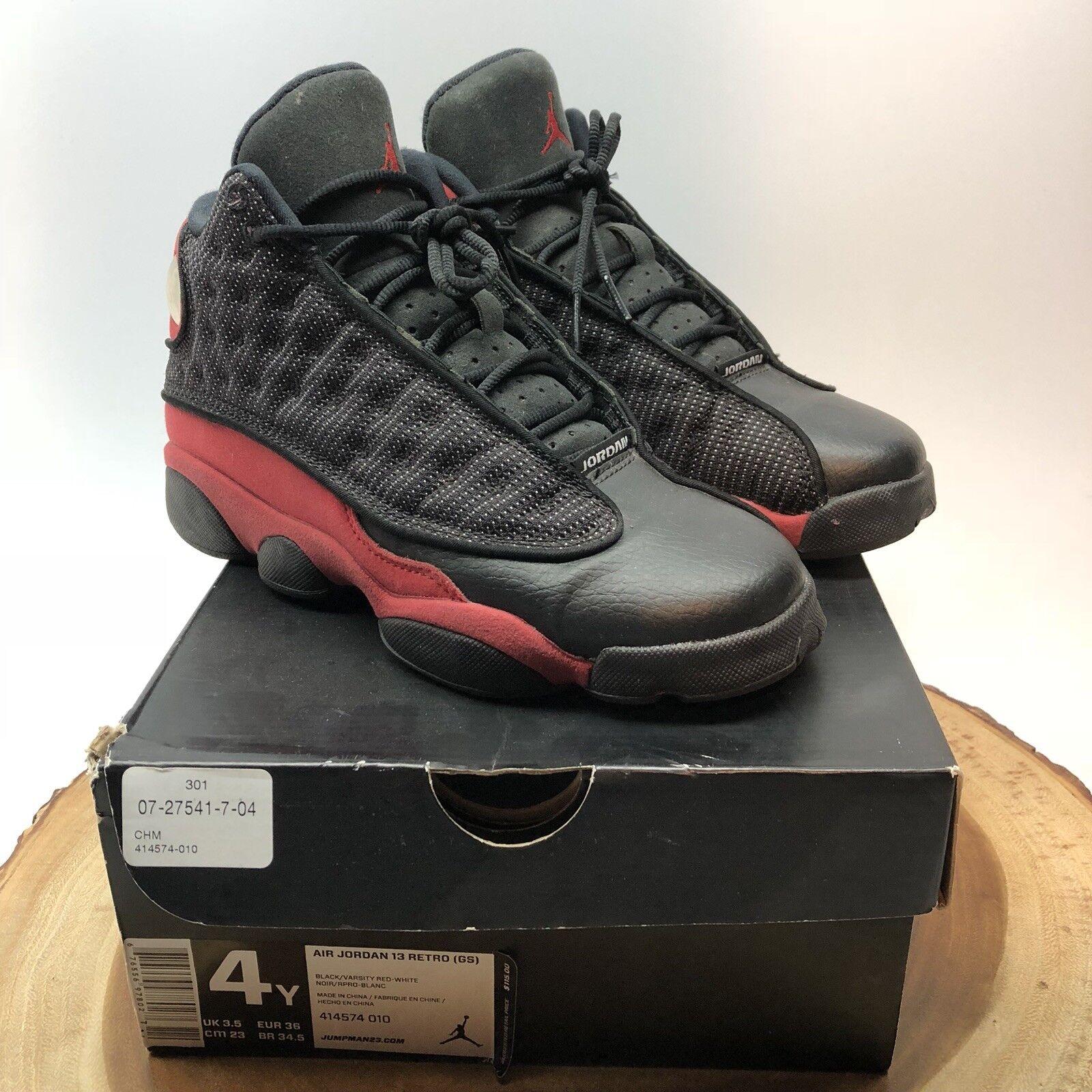 Nike Air Jordan Retro XIII Bred Size 4y He Got Game Altitude Playoff XI XIV IX