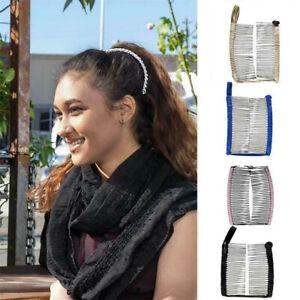 Women-Vintage-Hair-Clip-Christmas-Hair-Accessory-Stretchable-Banana-Comb-KA