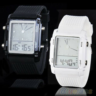 Damenuhr Herrenuhr LED Digital Armbanduhr Quarzuhr Sportuhr Watch Uhr