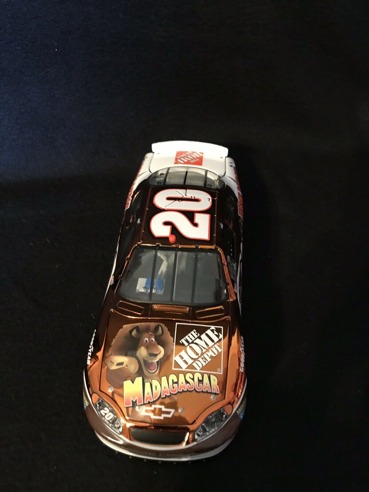 2005 Tony Stewart Home Depot   Madagasauto Monte autolo 1 24 Coloree Chrome L.E.