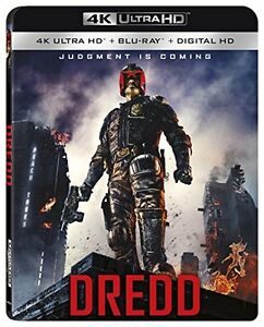 DREDD   (4K ULTRA HD) - Blu Ray -  Region free 31398263937