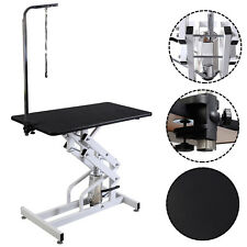 42.5'' x 23.6'' Z-Lift Hydraulic Pet Dog Adjustable Grooming Table W/Arm&Noose