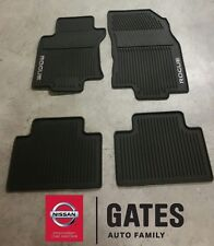 Superior 2014 U0026 Up Nissan Rogue OEM Rubber All Weather FLoor Mats (new Body Style  Only