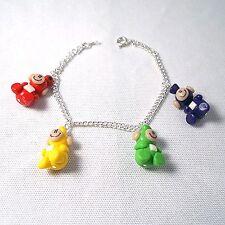 teletubbies bracelet 90s tv emo retro cute