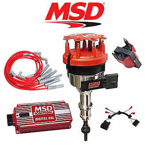 msd ignition kit digital 6al distributor wires coil harness 94 95 rh ebay com