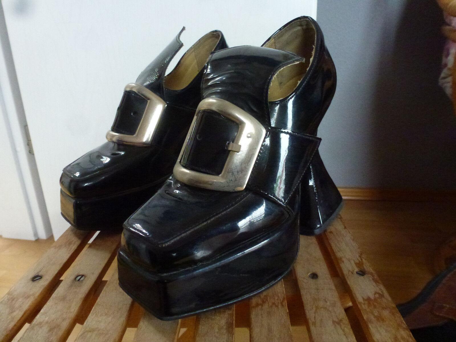 Damen Gothic Gothic Gothic Schuhe, Gr. 38, sehr guter Zustand . 1e242c