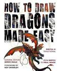How to Draw Dragons Made Easy by Flame Tree Publishing (Paperback, 2015)