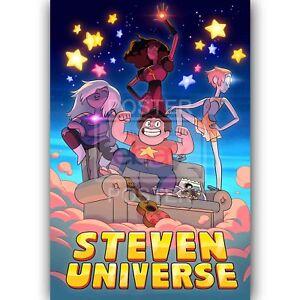 Steven Universe Custom Silk Poster Wall Decor 24x36 Inch