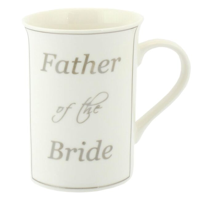 Wedding Day Thank You Gift - Fine China Mug - Father of the Bride