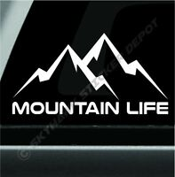Mountain Life Decal Bumper Sticker Car Truck Off Road Sticker Fit Jeep Dodge Ram