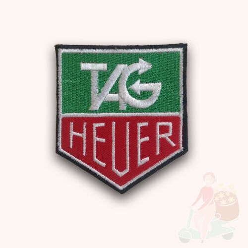 TAG HEUER montres Biker Badge Iron Sew On Embroidered Patch