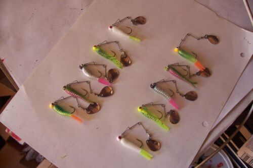 Mixed Five Color Card For Different Water Conditions Beetle Spin  Card Of Ten