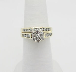 diamond g white gold wedding set h ring rings engagement infinity