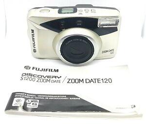 Fuji-Fujifilm-Zoom-Date-120-Point-amp-Shoot-35mm-Film-Camera-38-120mm-Lens