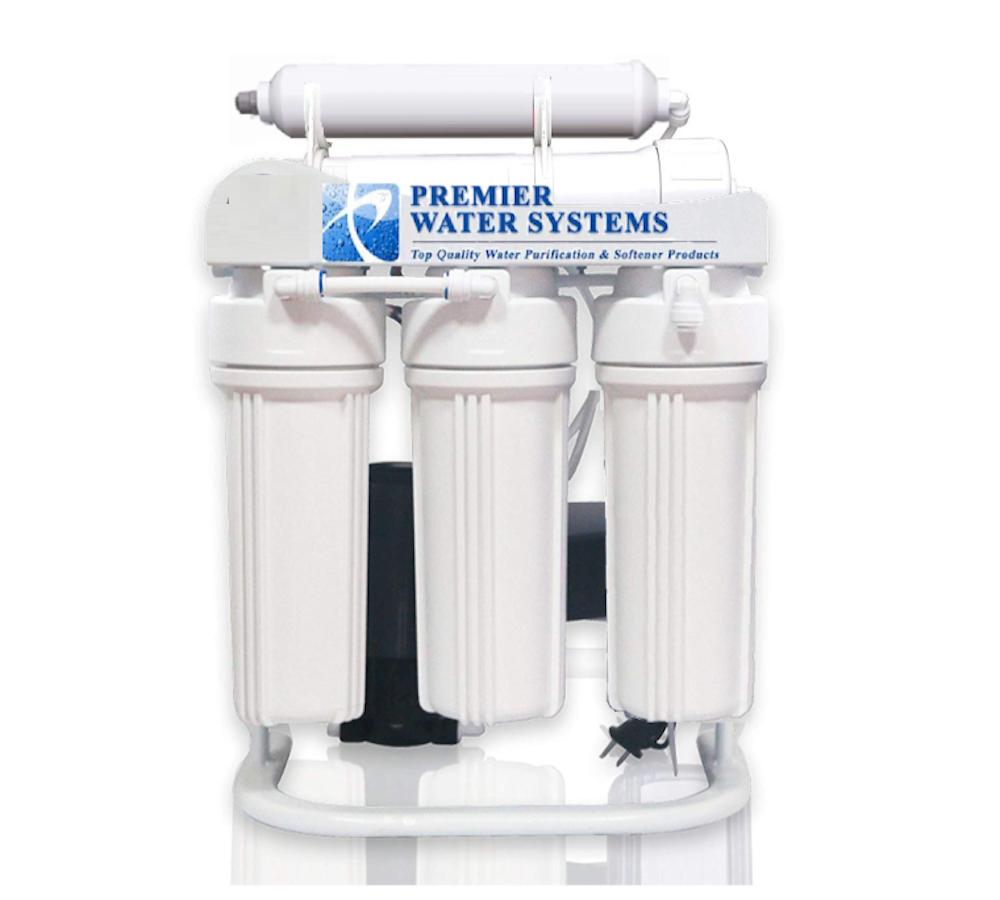 Premier Osmose Inverse Système D'eau 200 GPD avec Pompe de gavage 6 étape