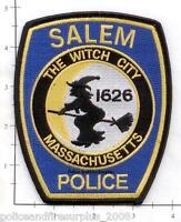 Massachusetts - Salem MA Police Dept Patch - The Witch City