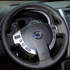 Steering Wheel Cover Wrap for Nissan Sentra 2007-2012 X-Trail ST Rogue 2008-2013