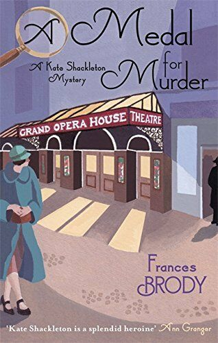 1 of 1 - A Medal For Murder: Number 2 in series (Kate Sha... by Brody, Frances 0749941928