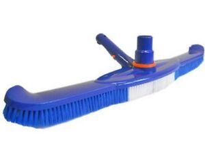 20 Quot Pool Spa Brush Combo Vacuum W Swivel Head Nylon